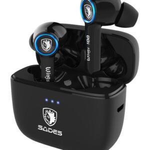 SADES gaming earphones Wings 100 με θήκη φόρτισης